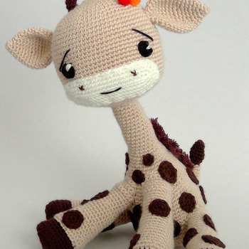 Crochet Pattern Giraffee Toy Amigurumi Pdf
