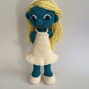 Crochet Pattern Smurfette Amigurumi Pdf