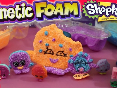 Custom Kinetic Foam Shopkins - Kooky Cookie & Cream E Cookie - Fun DIY Crafts Project