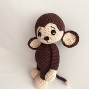 Crochet Pattern Cute Monkey Amigurumi Pdf