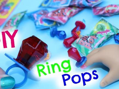 DIY American Girl Doll Ring Pops