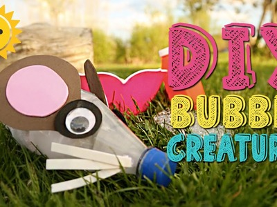 DIY Bubble Creatures | Kids Outside The Box