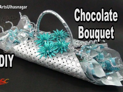 DIY Chocolate Bouquet |  Chocolate making to bouquet | How to make | JK Arts 978