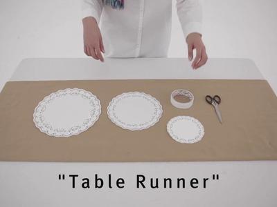 DIY Dessert Table for Eid Fitr