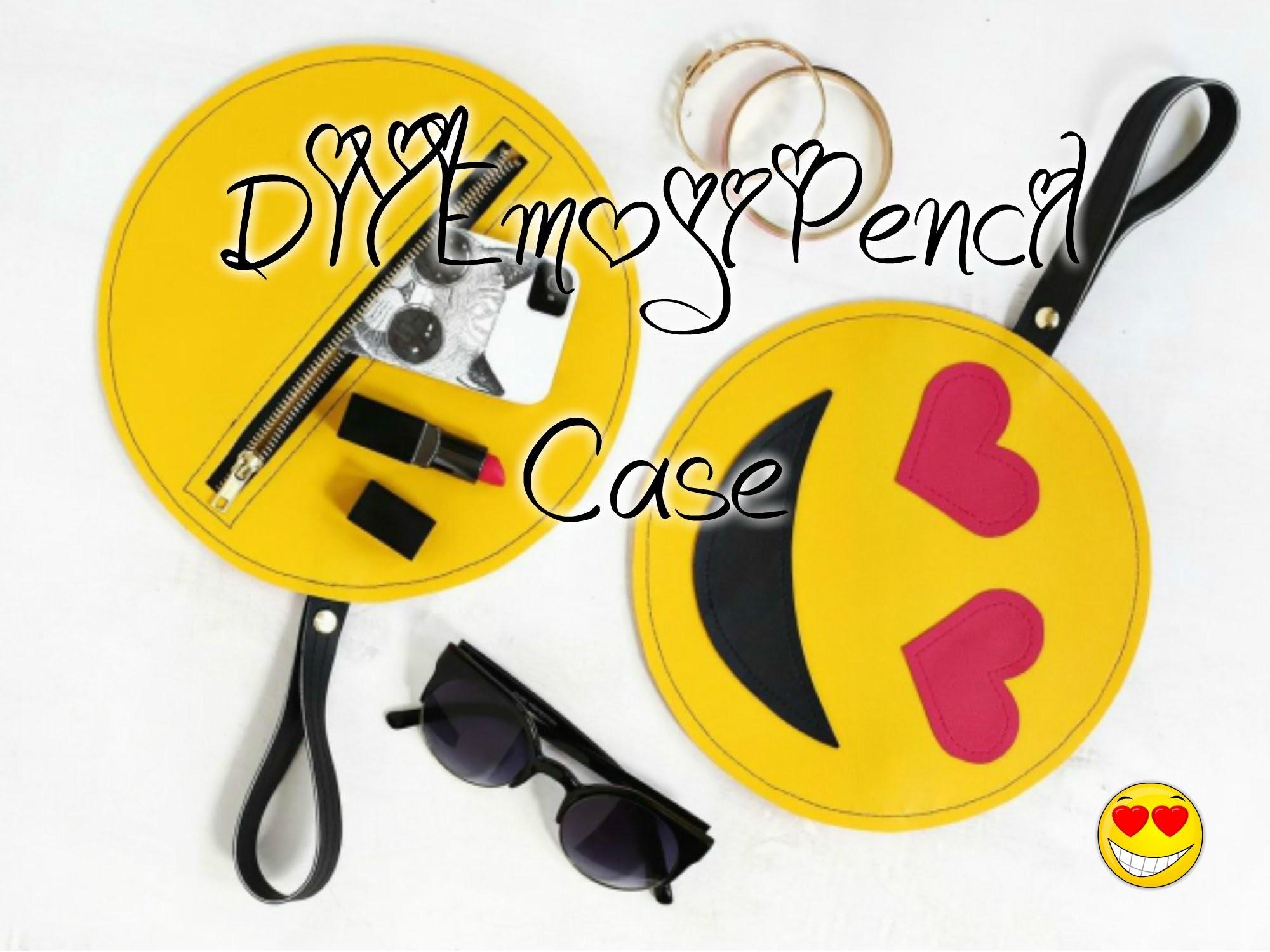 ❤DIY Emoji Pencil Case | easy