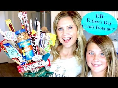 DIY Father's Day Candy Bouquet!!