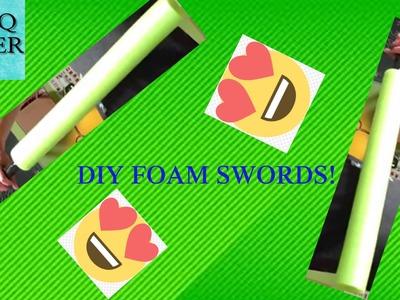 DIY Foam Swords How To!!