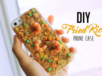 DIY Fried Rice Phone Case Tutorial
