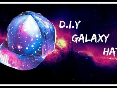 DIY Galaxy hat