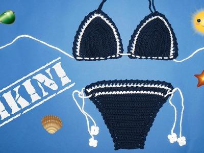 DIY How to Crochet a Bikini (Kako heklati bikini)