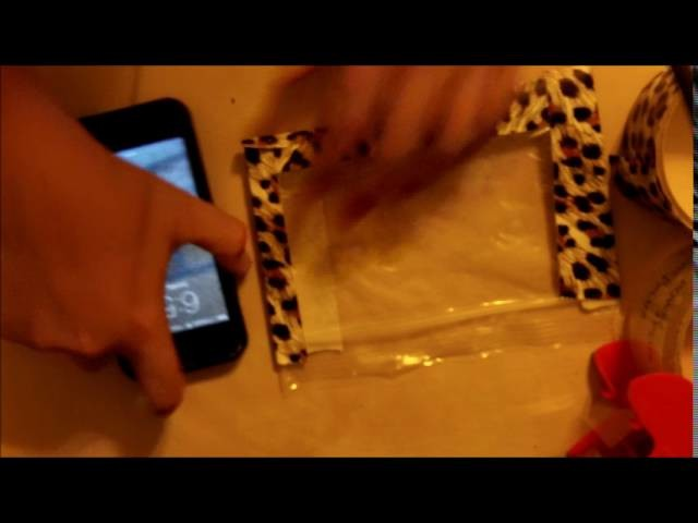 DIY How to make a water proof phone case