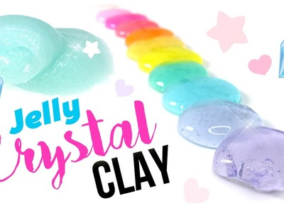 DIY Jelly Clear Slime Tutorial - Instagram Inspired DIY Slime!!