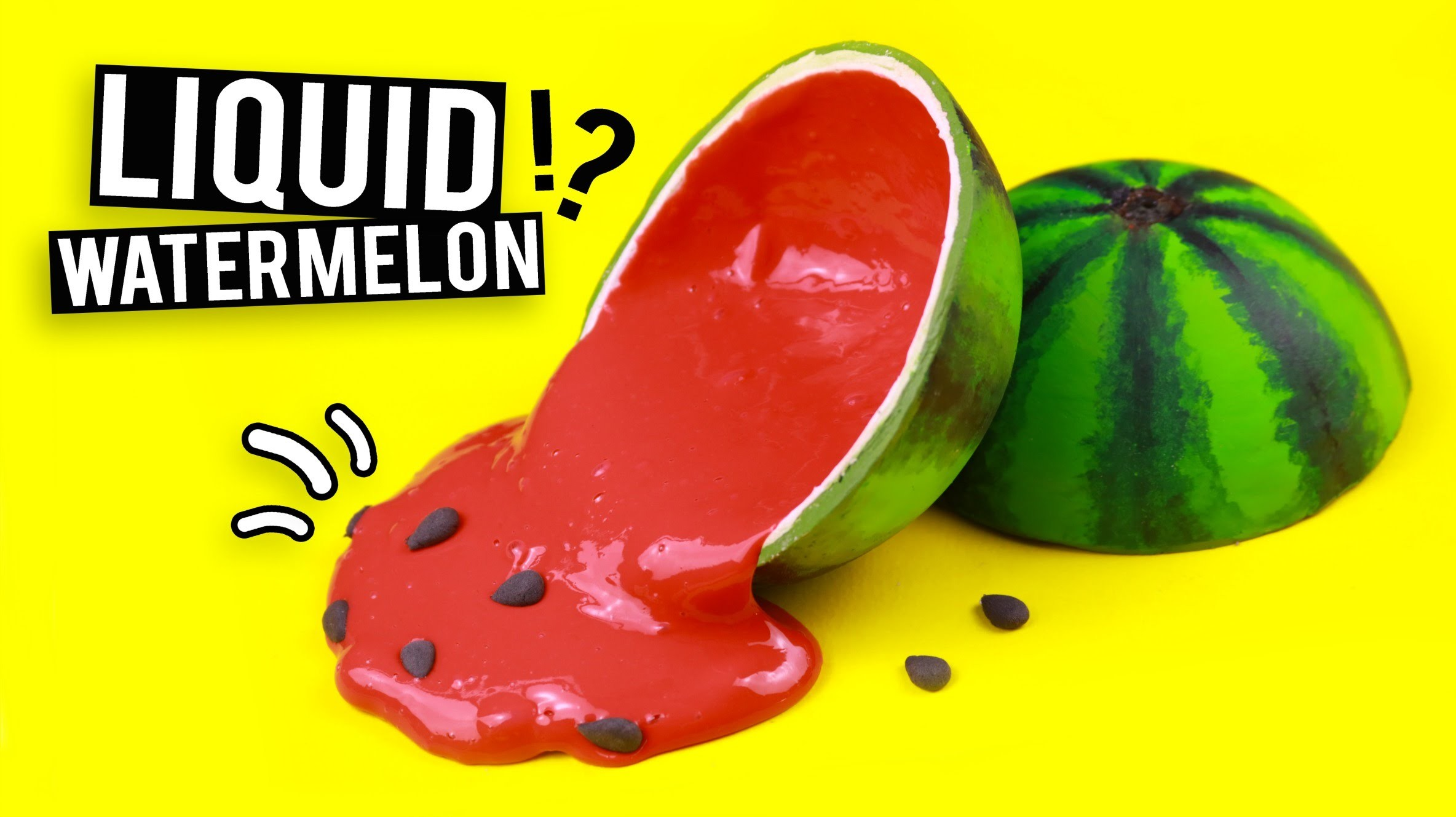 DIY LIQUID Watermelon!