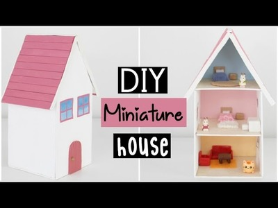 DIY Miniature Dollhouse - Cute Miniature House For Dolls