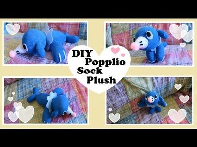 ❤ DIY Popplio Sock Plush! How to make your own adorable Pokemon sock plush! ❤