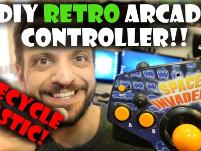 DIY Retro Arcade Controller Tutorial