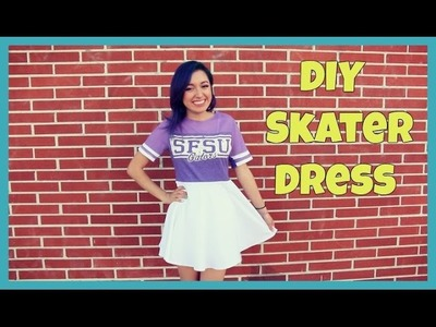 DIY Skater Dress T Shirt Transformation | Crafty Amy