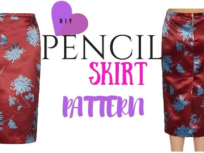 DIY Skirt: Pencil Skirt Pattern Tutorial