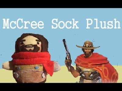 DIY Sock Plush Tutorial- McCree Overwatch