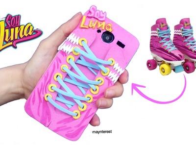 "DIY ""SOY LUNA"" PHONE CASE -  Roller skates (EVA foam)"
