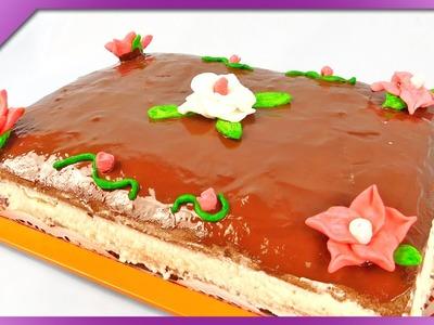 DIY Sugar dough for cake decoration (ENG Subtitles) - Speed up #228
