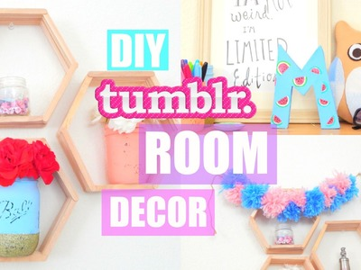 DIY Summer Room Decor 2016 ! Easy & Affordable Tumblr Inspired | PastelPandaz