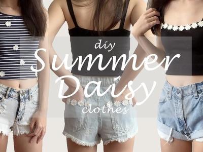 DIY Tumblr Daisy Clothes for Summer | megoosta