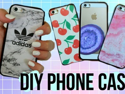 DIY Tumblr Phone Cases! Wildflower & Tumblr Inspired