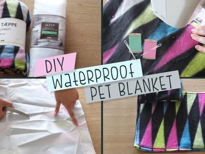 DIY Waterproof Pet Blanket & Cushion