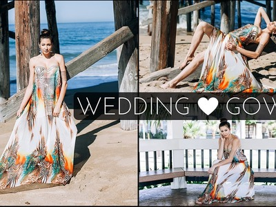 DIY  Wedding Gown or Prom Dress- Beginner Level