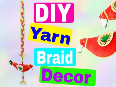 DIY Yarn Braid Home Decoration | Wall Hangings | Style Small World