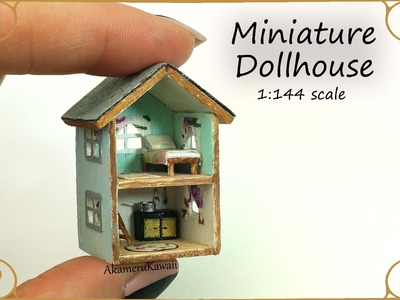 Dollhouse for Dolls; Miniature Dollhouse Tutorial