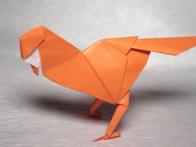 Easy origami Little Bird tutorial - DIY (Henry Phạm)