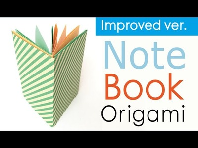 Paper Easy Origami Paper Note Book Notebook Improved Ver