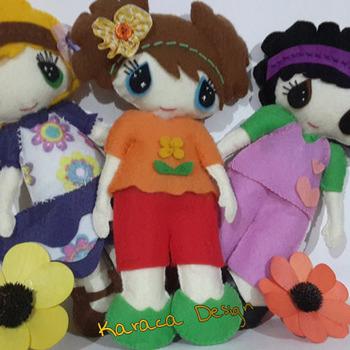 Felt Daisy Doll Pattern Pdf