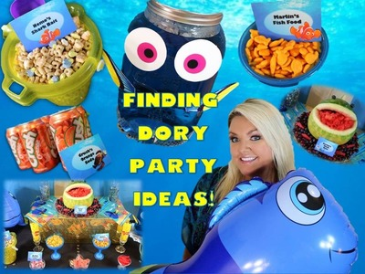 Finding Dory Party! | DIY, Food Labels, and Decor!