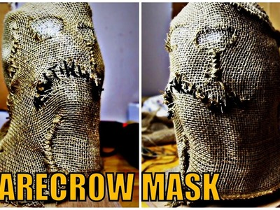 How To DIY Cosplay.Propmaking: SCARECROW MASK (BATMAN)