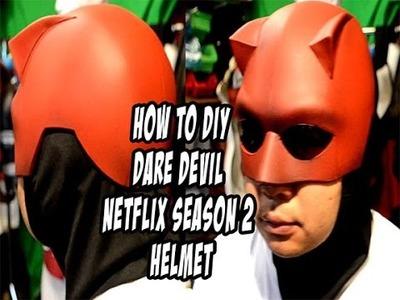 How To DiY Dare Devil Season 2 helmet Cosplay Costume
