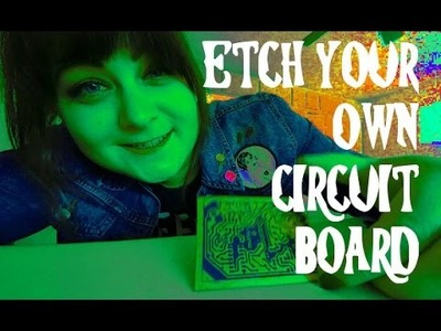 HOW TO ETCH A CIRCUIT BOARD | DIY Pedal Building