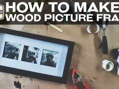 How to make a frame | Woodworking | DIY