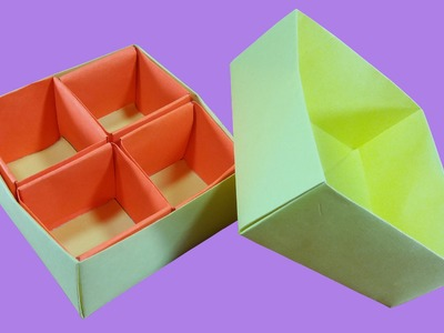 How to make Box in Box (multi storage box) : DIY Crafts