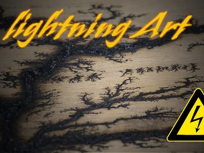How to make LIGHTNING art