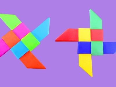 How to make Origami ninja Star : DIY Crafts - HD