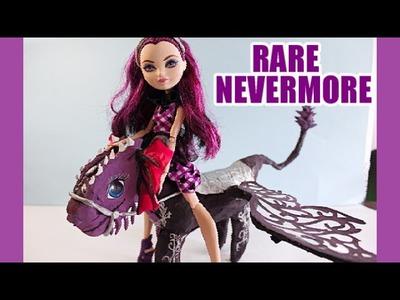 RARE TRAILER DIY NEVERMORE DRAGON!!!!! Ever After High Raven Queen Dragon Games Toy Dobertot