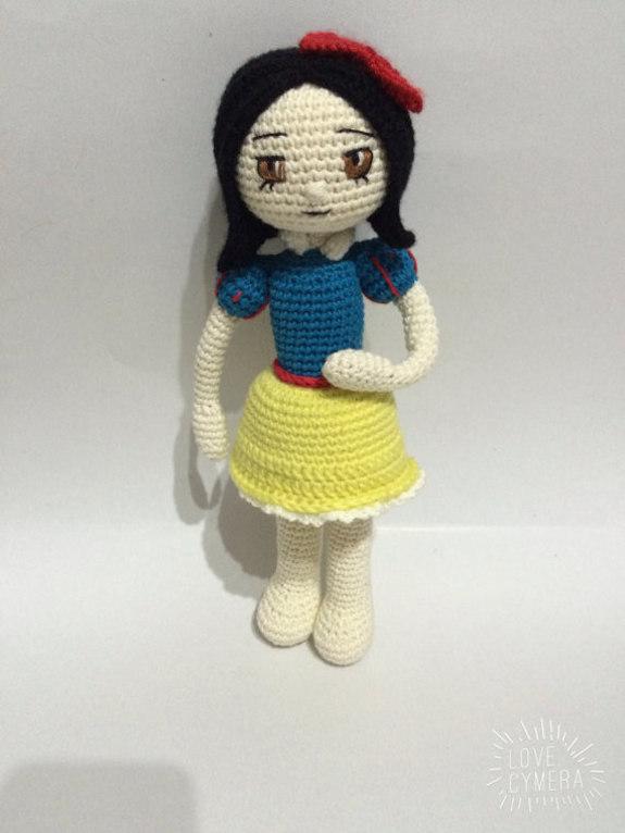 Amigurumi Doll Pdf : Crochet pattern snow white amigurumi doll pdf iremdesign