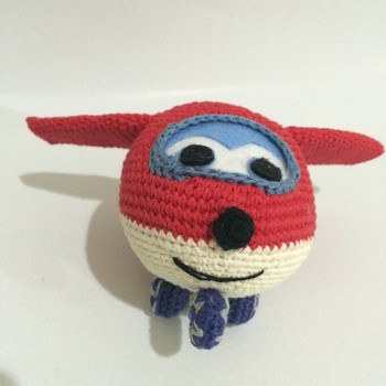 Crochet Pattern Super Wings Jet Amigurumi Pdf