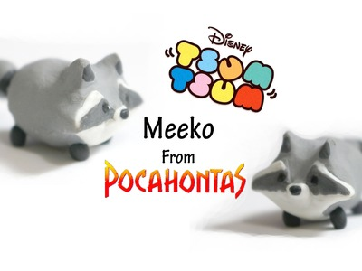 Tutorial: DIY Tsum Tsum Meeko - Fimo Polymer Clay Collab with msmabelstory