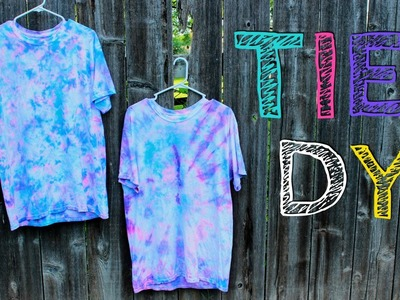 2 Ways to Tie Dye | DIY