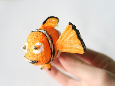 3D Pen Art - How to make finding nemo.DIY.Tutorial (finding dory movie)
