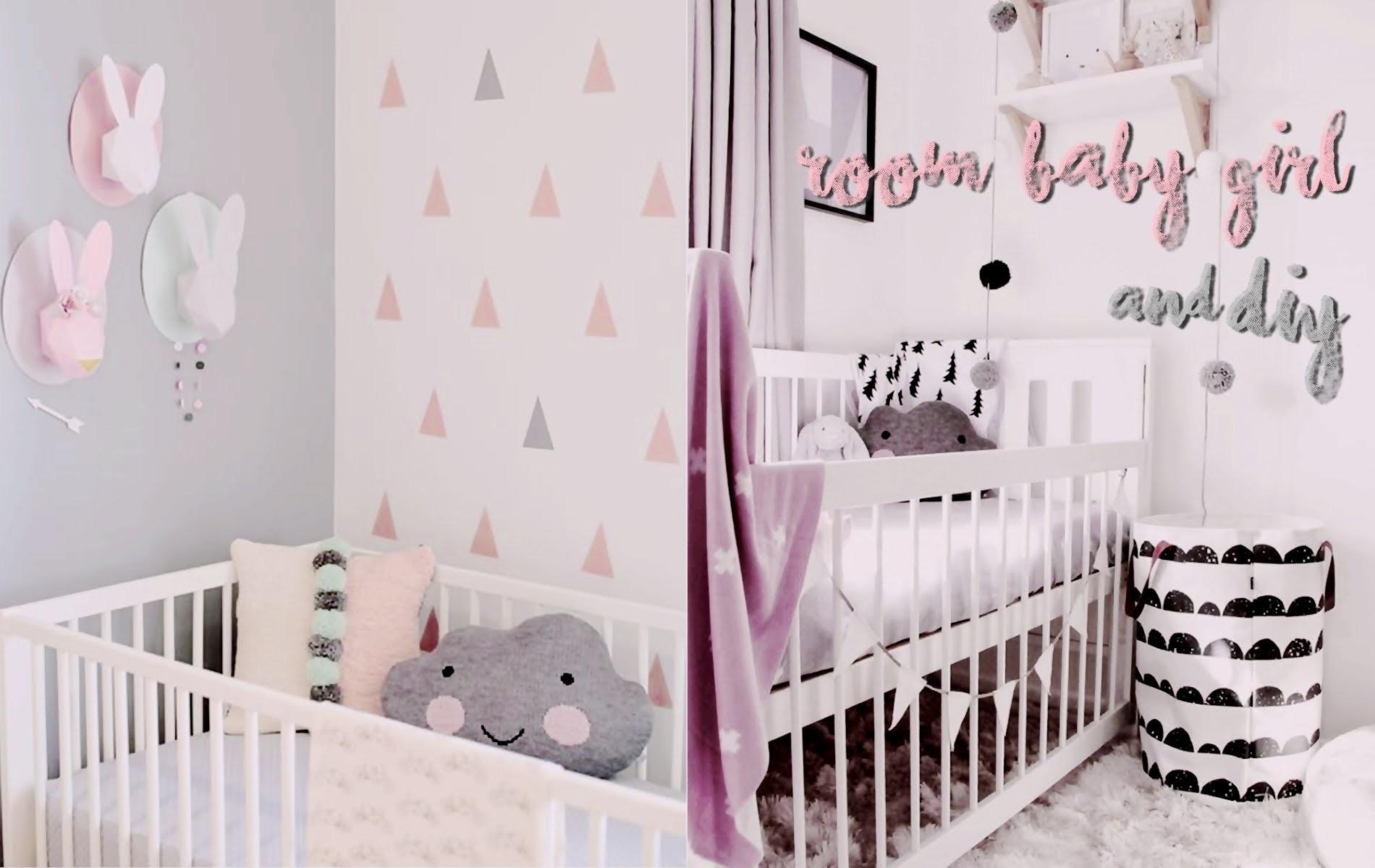 BABY GIRL ROOM TOUR ♡ l ideas DIY para habit. de niñas